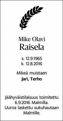 Mike Olavi Raisela